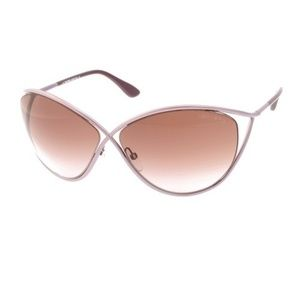 Tom Ford  Purple Tf0129 Women Narcissa Sunglasses